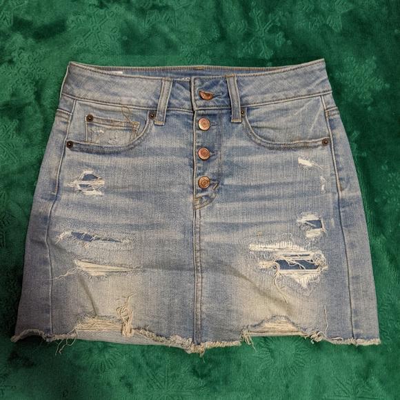 American Eagle Outfitters Dresses & Skirts - American Eagle Denim Mini Skirt